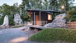 Pavilhão Kulturraum Blumenegg / ma_ma