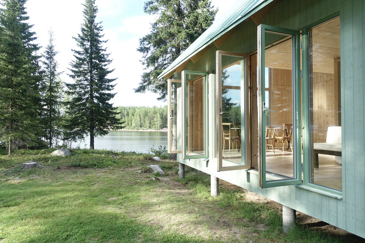 Granholmen Summer Cottage / Bornstein Lyckefors + Josefine Wikholm, © Carl Axel Bejre