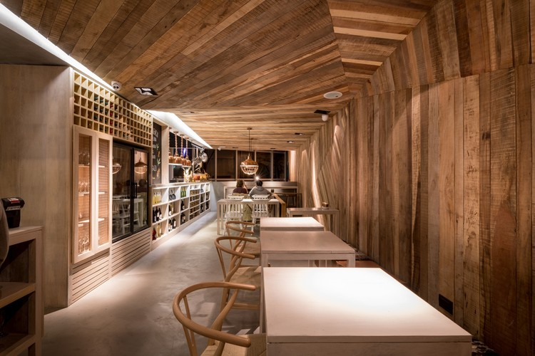 Restaurante Siamo / Estudio Montevideo + Pablo Dellatorre. Image © Gonzalo Viramonte