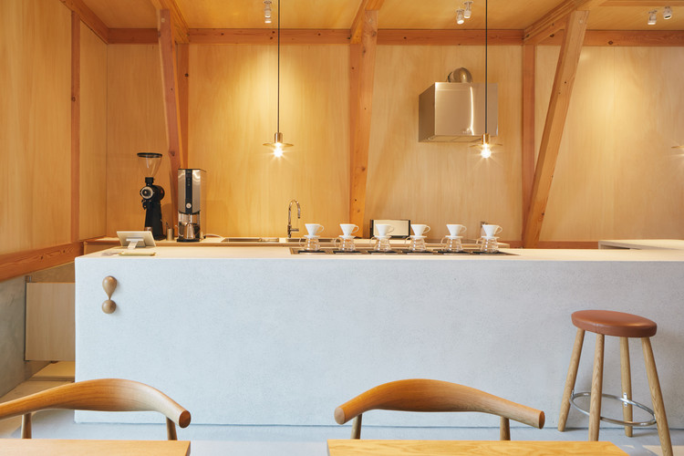 Idumi Cafe Residence Tenhachi Architect Interior Design Archdaily