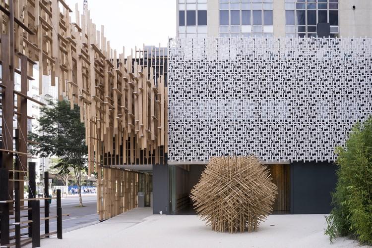 Japan House São Paulo / Kengo Kuma & Associates + FGMF, © Tatewaki NIO