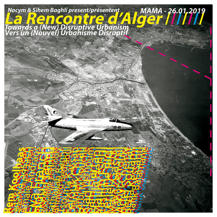 La Rencontre d'Alger Poster / Baghli Architects. Image Courtesy of Baghli Architects
