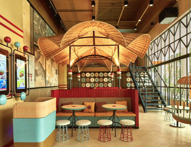 Dapour 100 Eatery and Bar / Alvin Tjitrowirjo. Image Courtesy of AlvinT