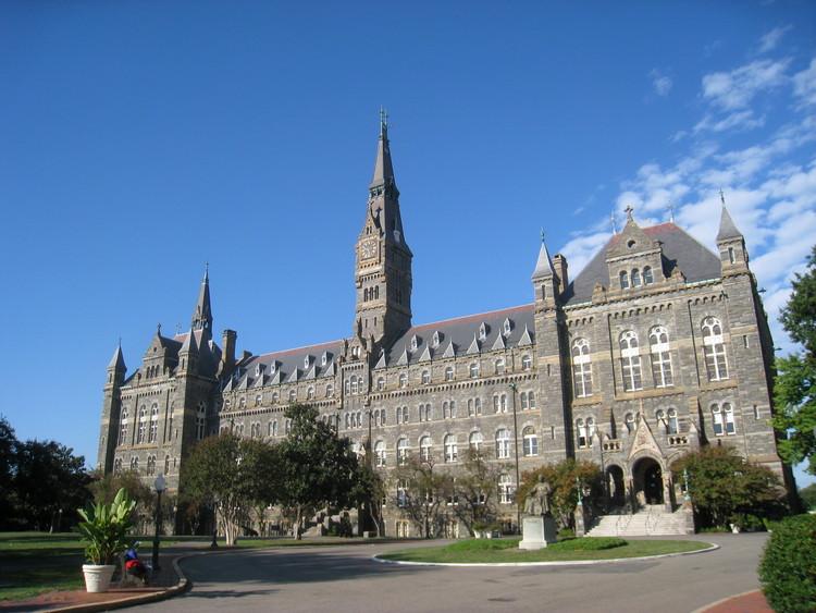 El área de postgrados del Design Lab UAI te invita a vivir una experiencia internacional, Georgetown University, Washington D.C. Image vía Wikimedia Commons: User Daderot, Licensed Under Public Domain