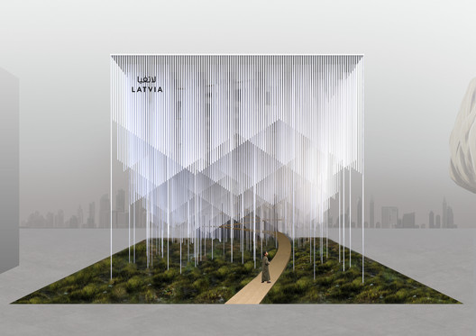 1st Prize Proposal for Latvian Pavilion in Expo Dubai 2020