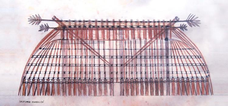 Manual de Arquitetura Kamayurá, Cortesia de Escola da Cidade e Povo Kamayurá