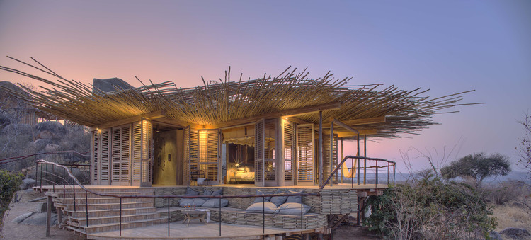 Jabali Ridge Lodge / Nicholas Plewman Architects, © Stevie Mann