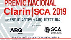 Premio Nacional Clarín-SCA 2019 para estudiantes de arquitectura en Argentina