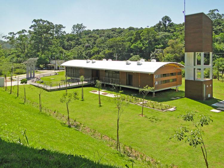 Edificio administrativo Parque Carmo / Secretaría de Medio Ambiente - Departamento de Parques y Áreas Verdes, © Luiz Paulo Meinberg Sacchetto