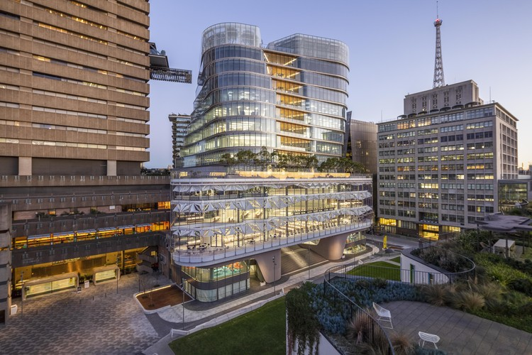 FJMT's UTS Central Academic Hub Opens to the Public in Sydney, UTS Central. Image Courtesy of Andy Roberts