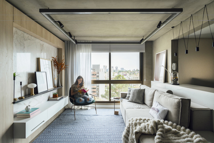 Apartamento TN / South Arquitetura, © Cristiano Bauce