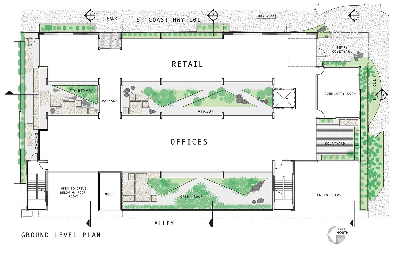 Gallery Of C3 Bank Headquarters Brett Farrow Architect 27