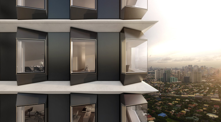 Foster + Partners Breaks Ground on New Residential Tower in the Philippines, The Estate Makati. Image Courtesy of Foster + Partners