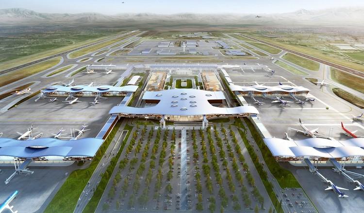 40 años inspirando la creación de espacios: CHC en 20 obras chilenas, Terminal Nuevo Aeropuerto de Santiago. Image Cortesía de CHC