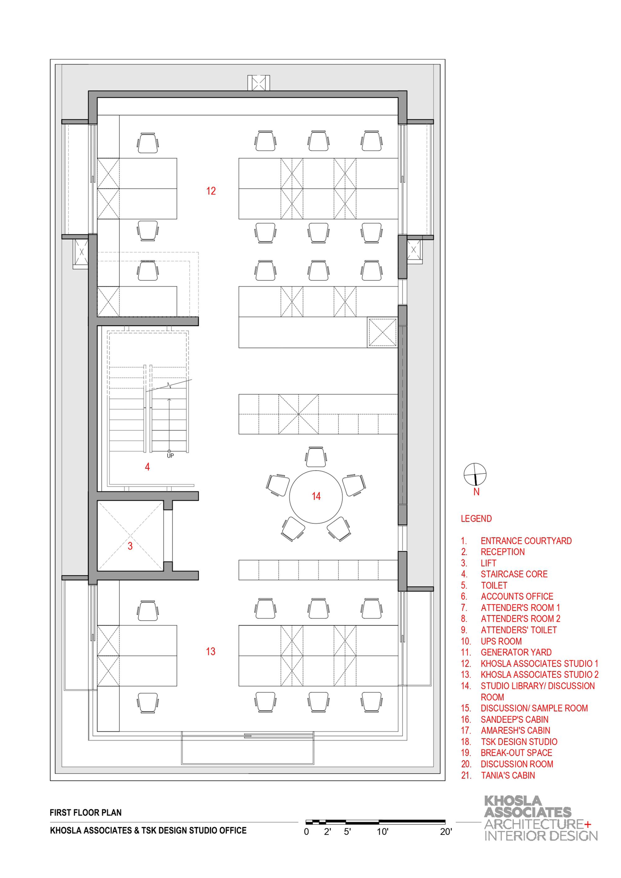 Gallery Of Khosla Associates And Tsk Design Studio Khosla