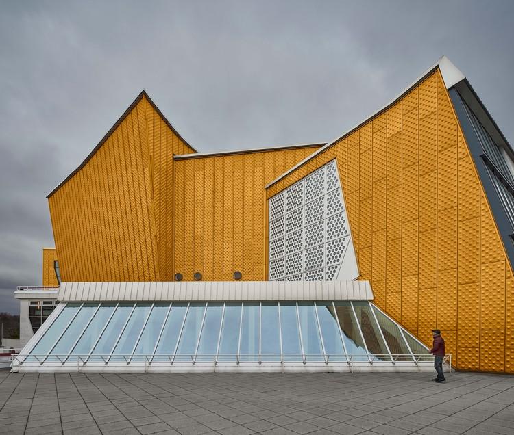La Filarmónica de Berlín, a través del fotógrafo de arquitectura Bahaa Ghoussainy , © Bahaa Ghoussainy