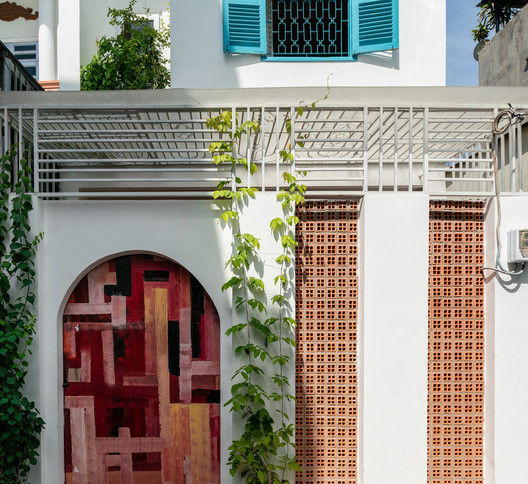 Casa patio trasero / AD9 Architects