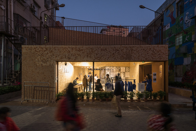 Invisible Architecture: the Necessity of Surprise - Eyes and Ears of the City / Ole Bouman for the Shenzhen Biennale (UABB) 2019, UABB in Nantou urban village © ZHANG Chao