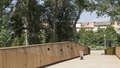 Pedestrian And Cycling Bridge / LD+SR architetti