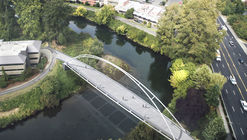 Tukwila Urban Center Bridge / LMN Architects