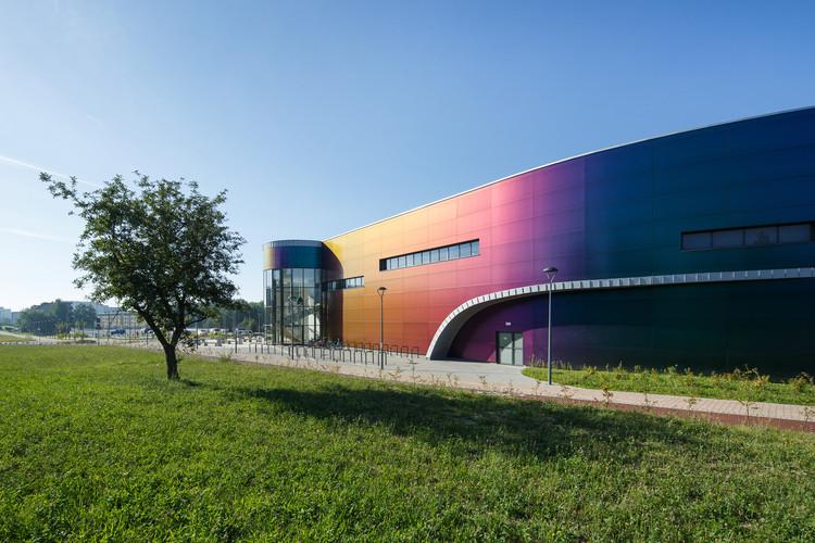 """Aquatic Center - """"Wodny Park Tychy"""" / Schick Architekci by TKHolding, © Tomasz Zakrzewski"""