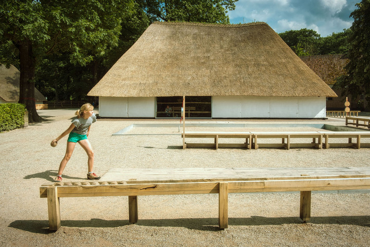 Volkssportenschuur Folk Sports Barn / De Gouden Liniaal Architecten, © Luc Daelemans