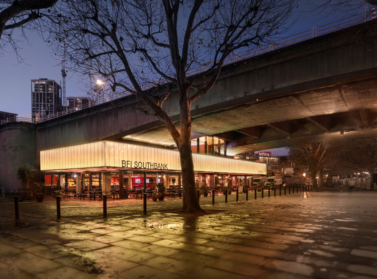 BFI Southbank Riverfront / Carmody Groarke, © Luke Hayes