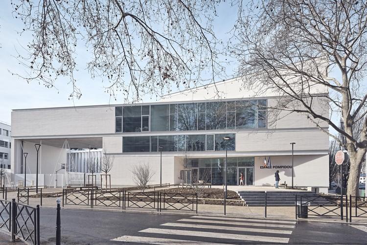 Espace Pompidou Gymnasium / enia architectes, © Epaillard + Machado