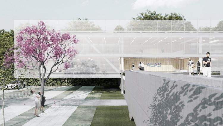2º Lugar no concurso nacional para a Sede da AEA Sorocaba, Cortesia de Bruno Cabral Arquitetura, RGB Estudio e Jakelyne Martins Arquitetura
