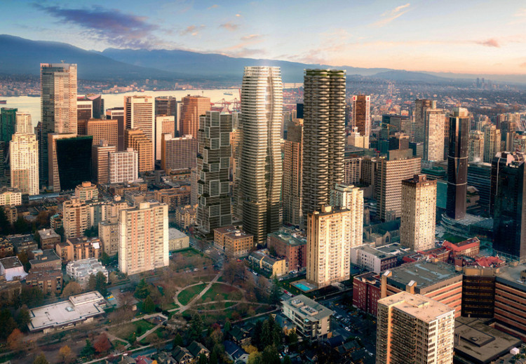 World's Tallest Passive HouseSkyscraperDesigned forVancouver, Courtesy of Henson Developments