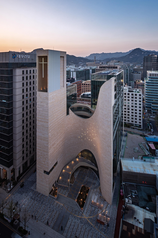 Saemoonan Church / Seoinn Design Group + Lee Eunseok