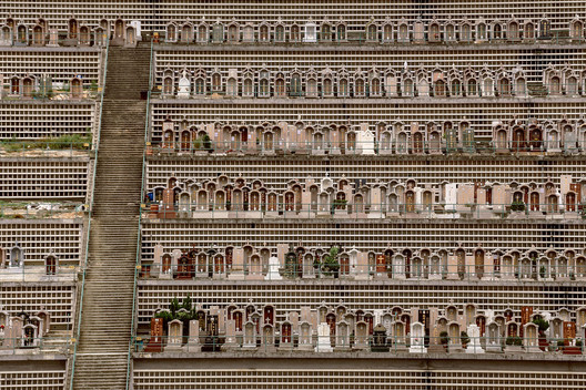 Photographic Series Captures The Hyper-dense Vertical Graveyards of Hong Kong