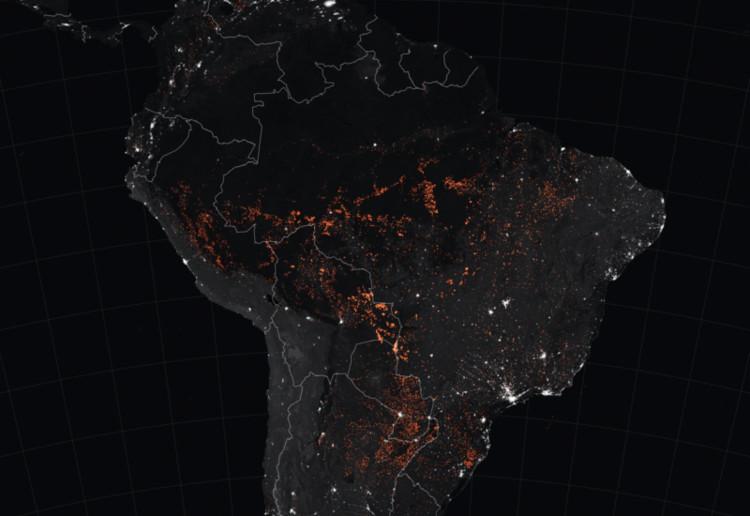 O que os mapas revelam sobre as queimadas na Amazônia, Via WRI Brasil