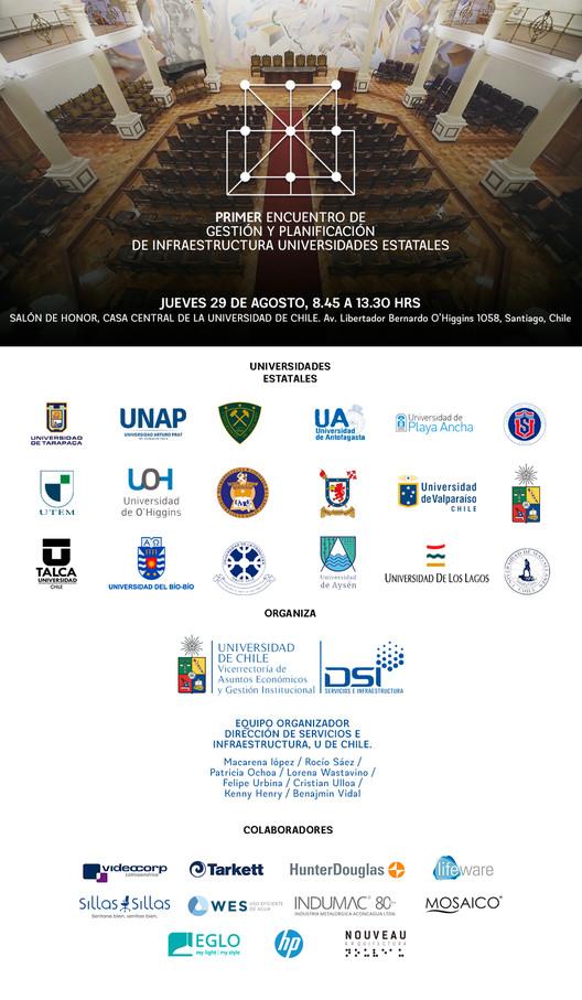 Primer Encuentro de Gestión y Planificación de Infraestructura de las Universidades Estatales, Dirección de Servicios e Infraestructura Universidad de Chile