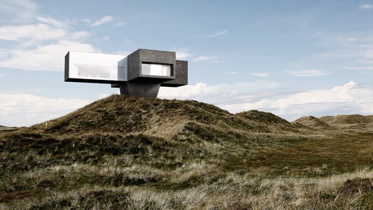 Studio Viktor Sørless Designs Coastal Dune House in Denmark