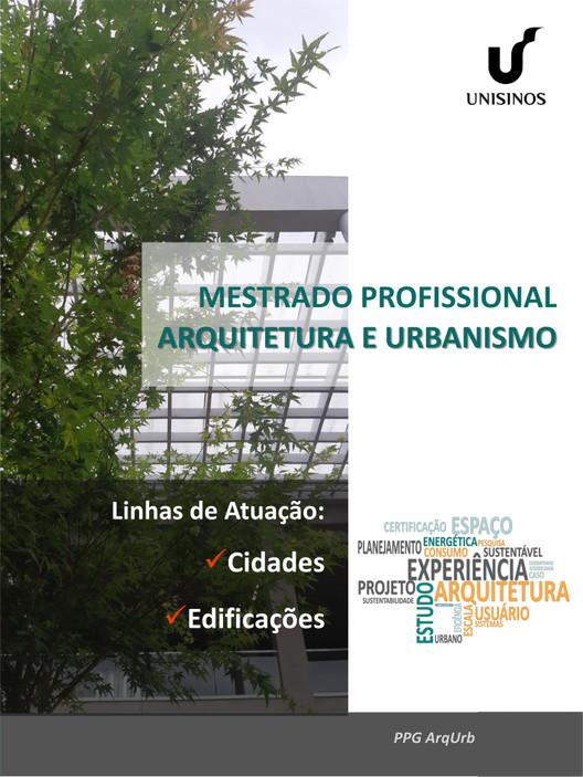 Mestrado Profissional em Arquitetura e Urbanismo, Mestrado Profissional em Arquitetura e Urbanismo
