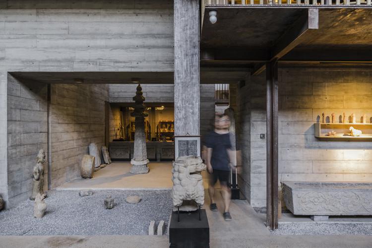 Bu Zaifang Art Space / Wall Architects of XAUAT, exhibition space. Image © Jiaqi Wang