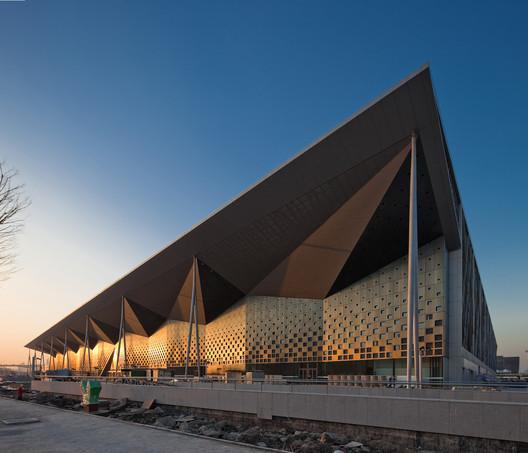Theme Pavilion of World Expo. 2010 Shanghai. Image © Zeng Qun Arc Lab