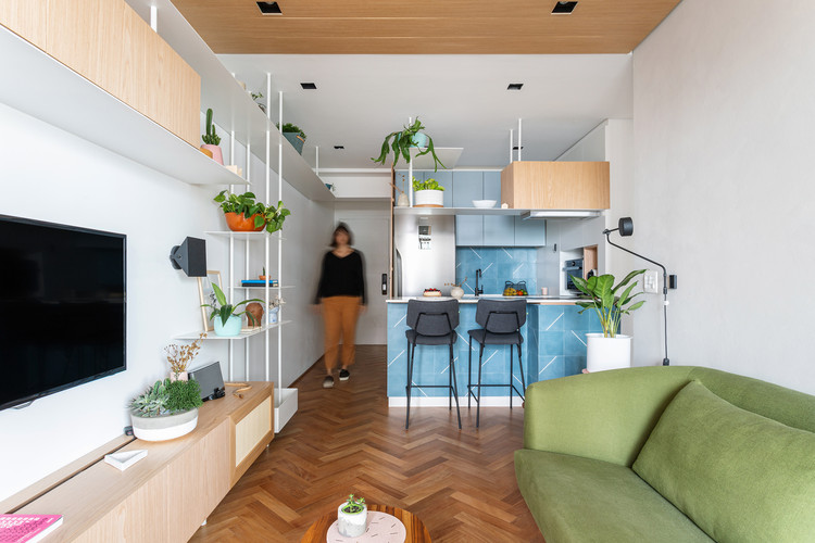 Apartamento Góes / Estúdio BRA, © Maura Mello
