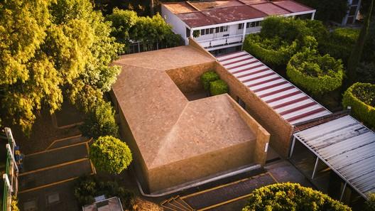 Centro cultural del centro educativo de Morelia / Iván Marín + Doho constructivo