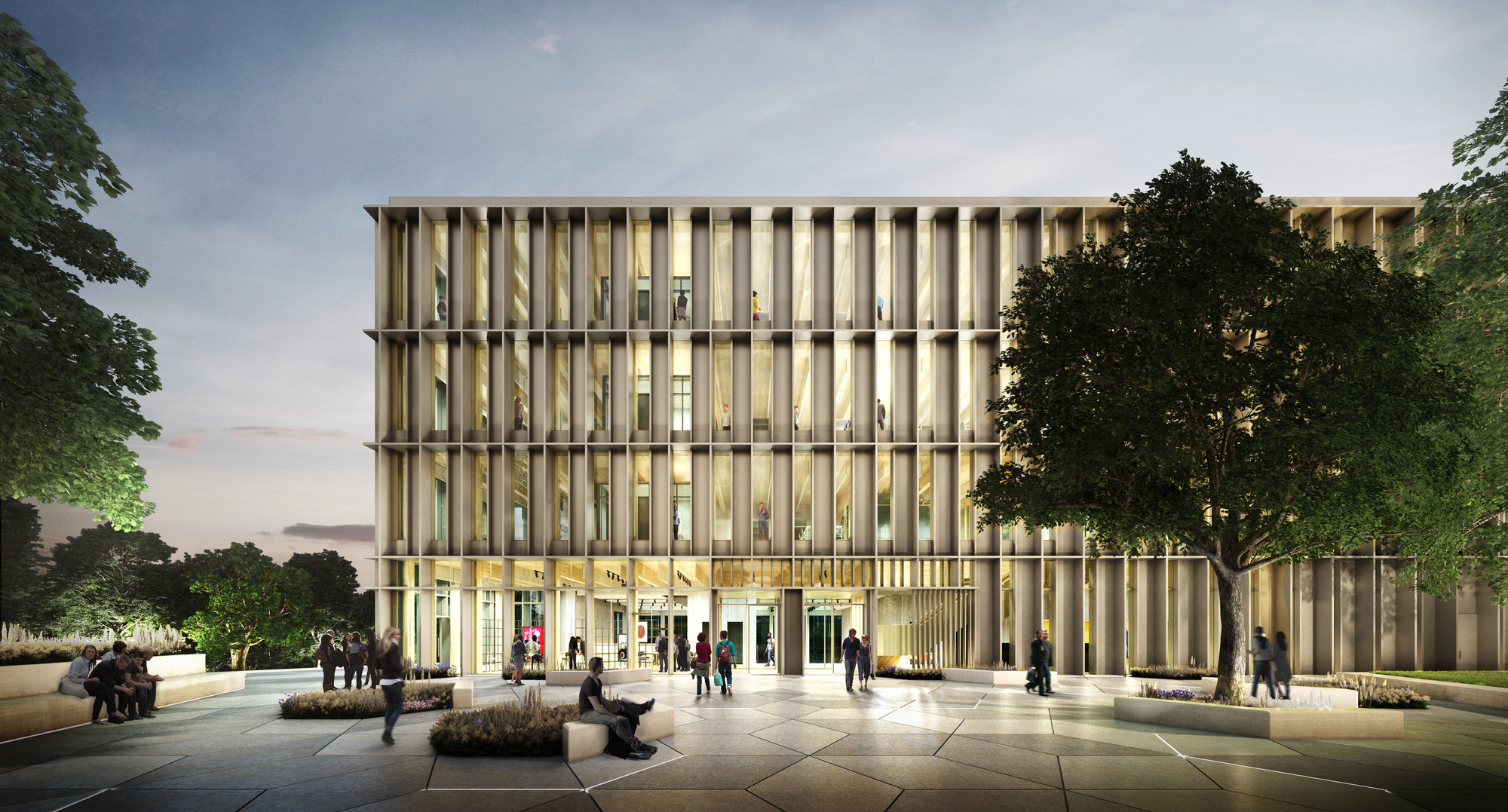Hawkins Brown To Design A Research Building For The University Of Warwick Archdaily