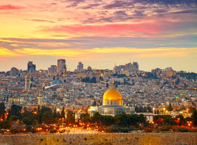 How Ancient Cities Become Accessible Cities, Jerusalem, Israel. Image © Shutterstock