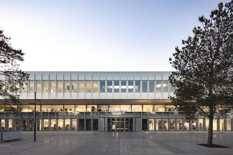Chambre de Métiers et de l'Artisanat  / KAAN Architecten + PRANLAS-DESCOURS architect + associates, © Sebastian van Damme