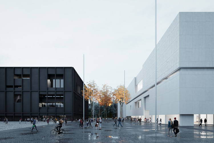 Thomas Phifer Design a Museum and a Theater for Warsaw, © The Boundary