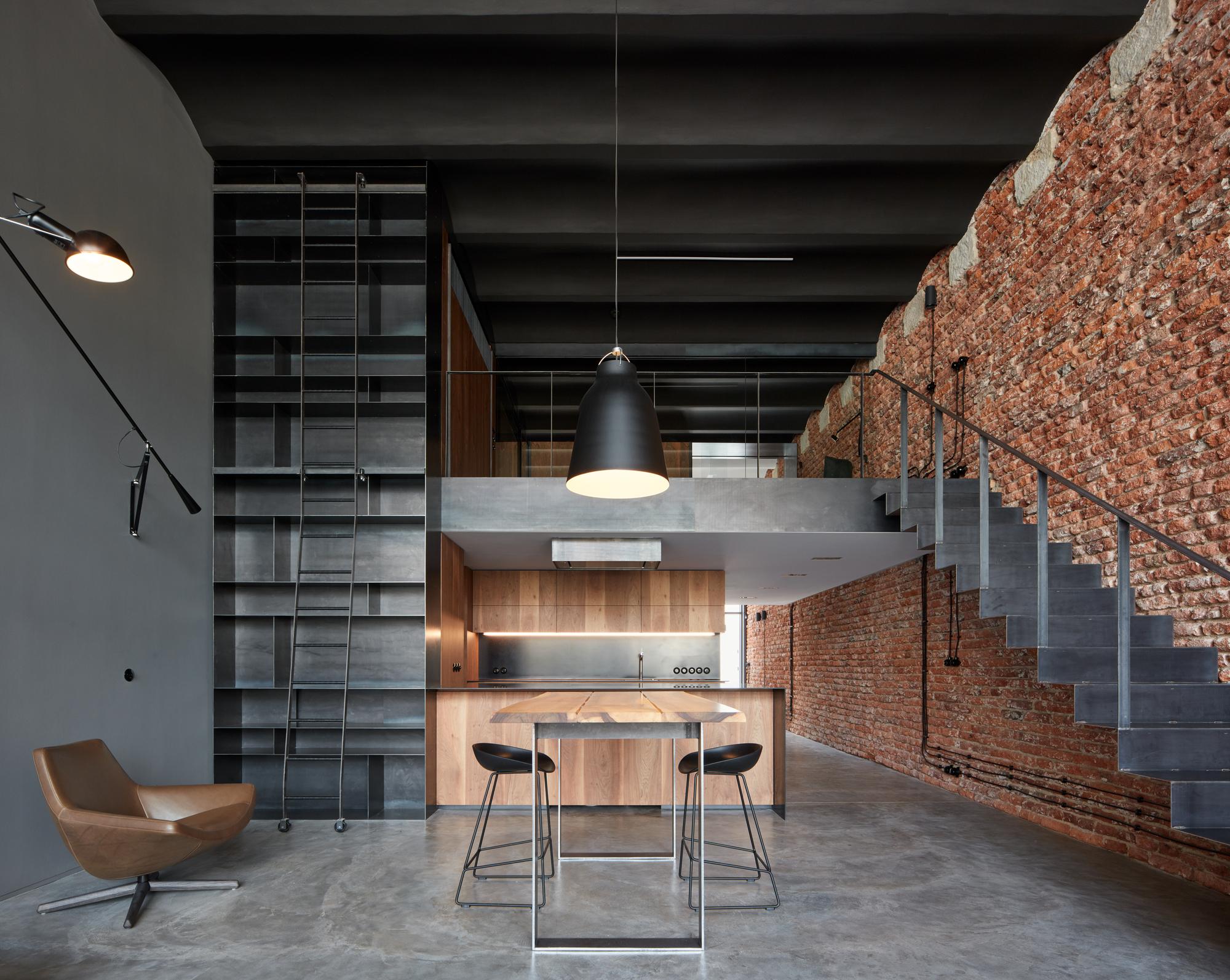 Mezzanine House Design Living Spaces