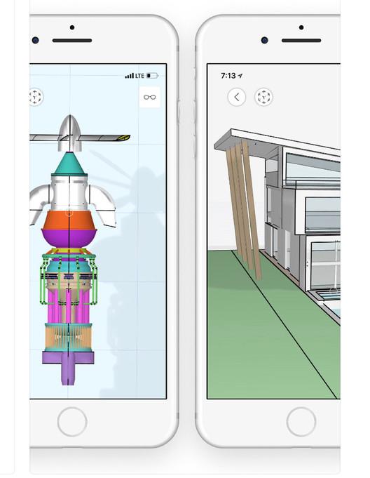 vía uMake - 3D CAD Modeling (IOS)