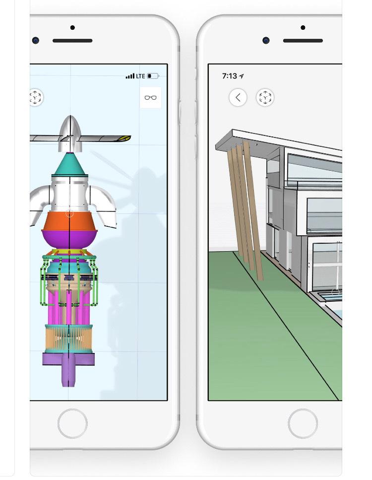 Las mejores apps para arquitectura en 2019,vía uMake - 3D CAD Modeling (IOS)
