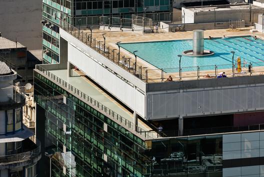 São Paulo's newest landmark: Sesc 24 de Maio, designed by Paulo Mendes da Rocha and MMBB Arquitetos. Image © Nelson Kon