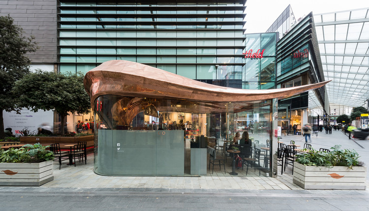 Jonathan Mizzi on the Future of Tiny Architecture, Colicci Cafe at Westfield Stratford. Image © Mizzi Studio
