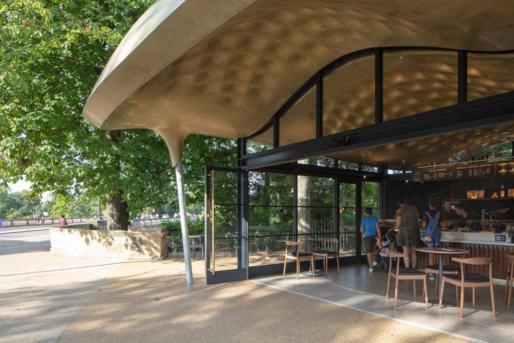Serpentine Coffee House. Imagen © Luke Hayes